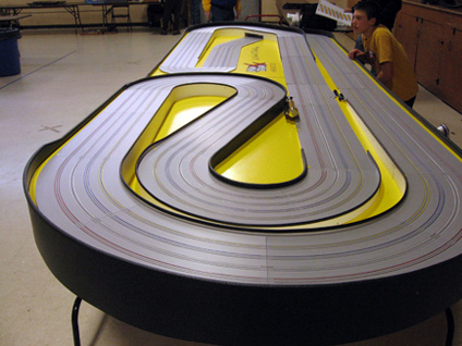 wiring a wooden track slot car wiring a four lane slot car track